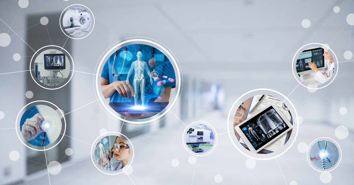 Representation of modern medical devices and technology