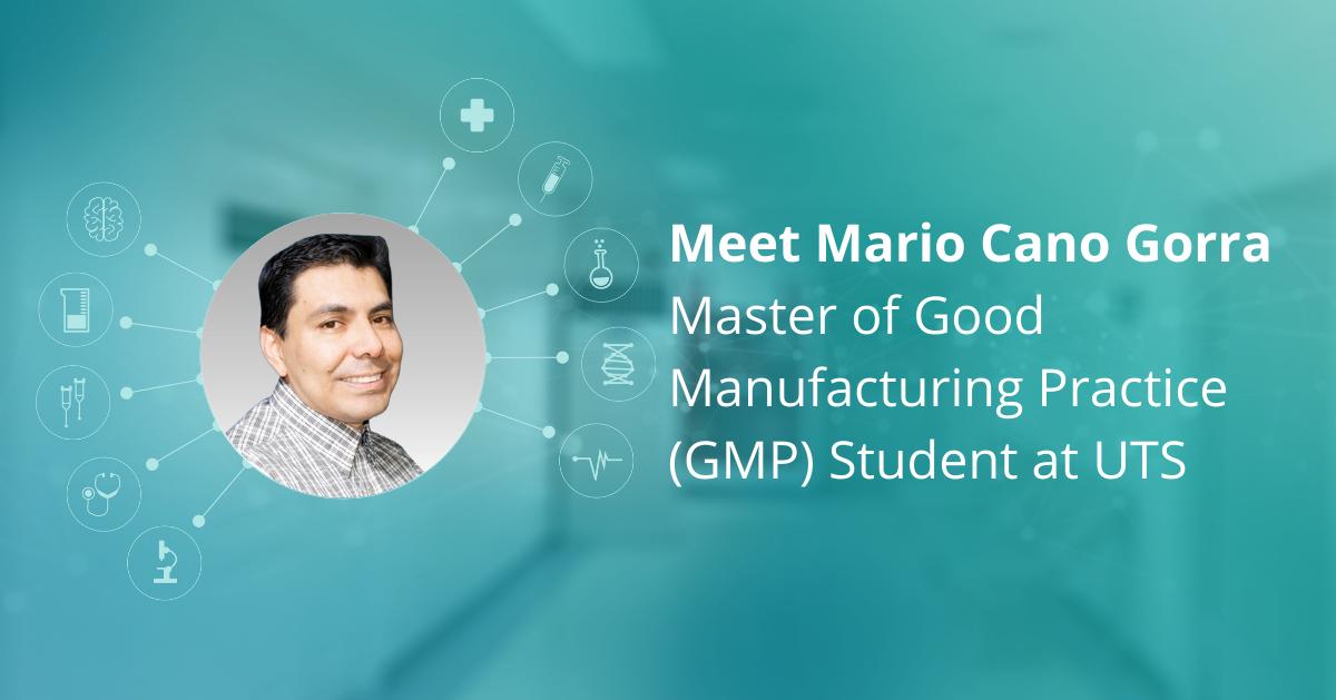 Meet Mario Cano Gorra - Master of GMP Student