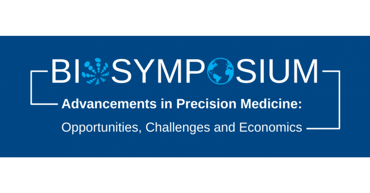BioSymposium Advancements in Precision Medicine – Opportunities, Challenges and Economics Banner